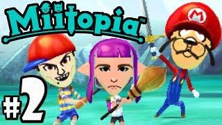 Download Miitopia PART 2 - amiibo, Chef Dracula, Stan Lee VS Mickey - Nintendo 3DS Demo Gameplay Walkthrough Video