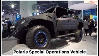 Download U.S. SOCOM has a new truck sized ATV made by Polaris called the ″Dagor″ Video