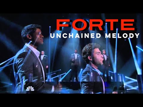 Forte Tenors - Unchained Melody - Americas Got Talent - Radio City