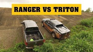 Download [Terocket] - So sánh Ford Ranger 2017 và Mitsubishi Triton 2017 thử tài với dốc trơn 35 độ Video
