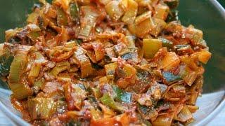 Download SRI LANKAN TEMPERED LEEKS VEGAN (LEEKS SANDWICHES) EASY Video