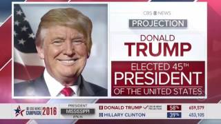 Download Every Network that Announce Donald Trump WINS Election 2016 Compilation Video Video