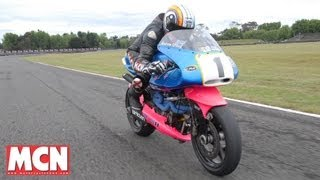 Download Exclusive: MCN ride the Britten V1000 | First Rides | Motorcyclenews Video