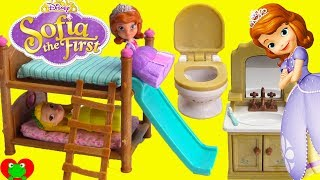 Download Disney Princess Sofia the First and Amber Bedtime Routine and Bunk Beds Video