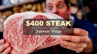 Download $400 Japanese Wagyu Steak Video