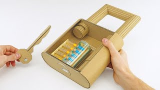 Download How to Make Fully Functional Lock from Cardboard Video