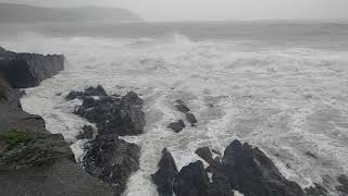Download Hurricane Ophelia Footage - Youghal, Co. Cork, Ireland - 16/10/2017 Video