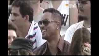 Download Novak Djokovic and Will Smith entertain the crowd in Argentina (Dancing Kings) Video