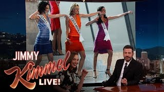Download Gal Gadot Threw the Miss Universe Pageant Video