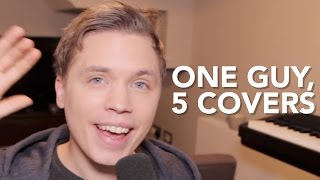 Download One Guy, 5 Covers Video