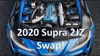 Download 2020 Supra finally gets a 2JZ swap! A real engine! Video