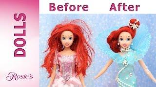 Download Little Mermaid Ariel's Makeover Part 2 - Aqua Fantasy Dress Video