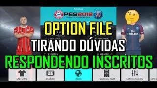 PES 2018 OPTION FILE COMPLETO - TODOS OS TIMES E SELEÇÕES - 100