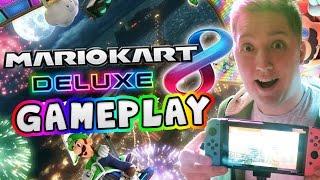 Download Mario Kart 8 Deluxe Gameplay on Nintendo Switch Video