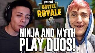 Download Ninja & Myth Play Duos!! - Fortnite Battle Royale Gameplay - Ninja Video