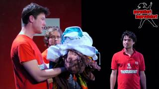 Download Theatersport - Wäsche waschen (philosophisch surreale Sprache) Video