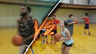 Download GETTING CHALLENGED BY A 13 YEAR OLD FEMALE SHARP SHOOTER FOR PAIR OF SNEAKERS Video