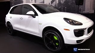 Download 2017 Porsche Cayenne S E Hybrid Platinum - Exterior, Interior Walkaround - 2017 Montreal Auto Show Video