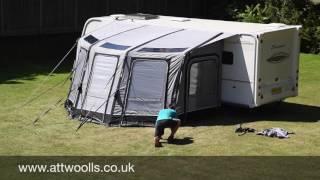 Download Vango Kalari Awning Pitching & Packing Video (Real Time) Video