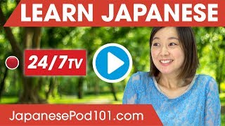 Download Learn Japanese 24/7 with JapanesePod101 TV Video