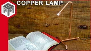 Download How to Make an Industrial Copper Pipe Lamp - Quick & Easy Video
