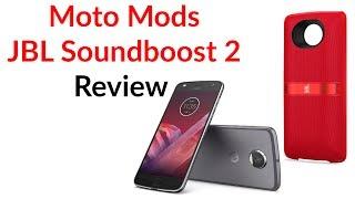 Download Moto Mods Review - JBL Soundboost 2 Video