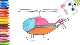Download Helikopter Berwarna-warni - Cara Menggambar dan Mewarnai TV Anak Video