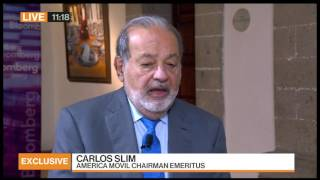 Download Carlos Slim on President Trump: 'I'd Be More Worried If I Were American' Video