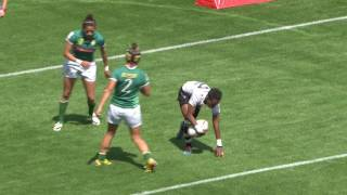 Download Insane offload from Fiji women's sevens! Video