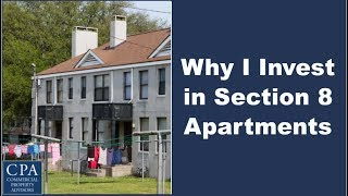 Download Why I Invest in Section 8 Apartments Video