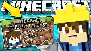 Download If You Needed a BUILDERS LICENSE To Build - Minecraft Video