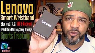 Download Lenovo HW01 Smart Wristband ⌚ : LGTV Review Video