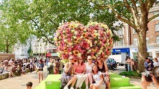 Download Chelsea Farmers Food Market London Summer Flower Show Video