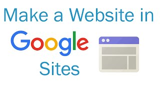 Download How to make a website in Google Sites Video