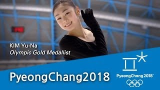 Download (ENG) Yuna Kim's introduction of PyeongChang 2018 Video
