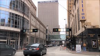 Download Driving Downtown - Cincinnati Ohio USA Video