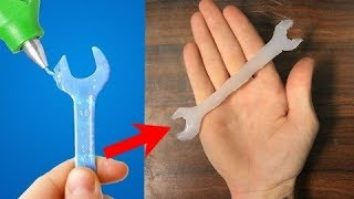 Download Trying 30 GENIUS HOT GLUE HACKS By 5 Minute Crafts (part 2) Video