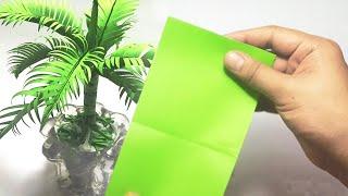 Download Cara Membuat Pohon Kelapa Dari Kertas Origami, Untuk Dekorasi Ruang Tamu Video