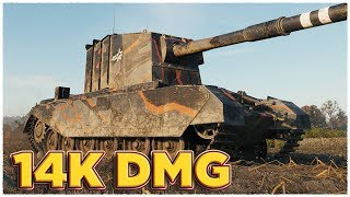 Download MAIN GUNS HER MAJESTY'S • FV4005 Stage II • WoT Gameplay Video