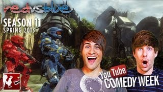Download Red vs. Blue Season 11 - Comedy Week: Teaser featuring Smosh | Rooster Teeth Video