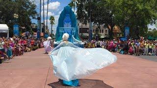 Download FULL Frozen Royal Reception parade at Disney's Hollywood Studios Video