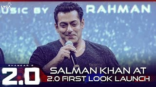 Download Salman Khan at 2.0 First look Launch | Lyca Productions Video