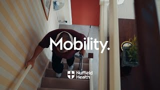 Download Going up Stairs with Crutches | Nuffield Health Video