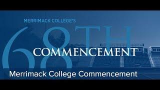 Download 2018 Merrimack College Undergraduate Commencement Video