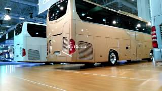 Download NEW MERCEDES BENZ TRAVEGO 2016 Comvex Fair 2016 Turkey iBus Channel Video