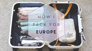Download How I Pack for Europe (KonMari) Video