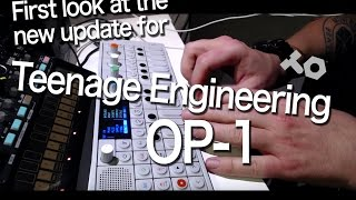 Download Teenage Engineering OP-1 : Taking a look at the new update Video