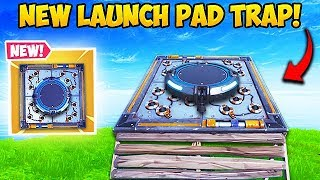 Download *NEW* SUPER OP LAUNCH PAD TRAP! - Fortnite Funny Fails and WTF Moments! #506 Video