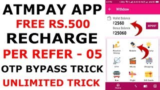 Top 7 Free Recharge Android Apps 2018 | Highest Payout | Mission