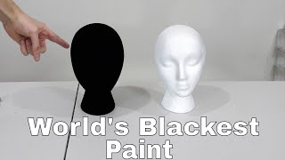Download The New World's Blackest Paint (Black 3.0) vs the Brightest Flashlight! Video